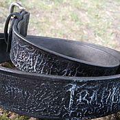 """Ремни ручной работы. Ярмарка Мастеров - ручная работа Ремни: Кожаный ремень """" Cradle of Filth"""". Handmade."""