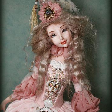 Куклы и игрушки ручной работы. Ярмарка Мастеров - ручная работа Куклы: Коломбина. Handmade.