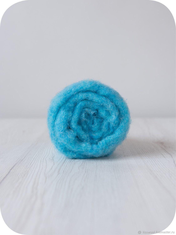 Cardoons Maori70% Bergshaf30% Fairy.Italian factory DHG, Carded Wool, Berdsk,  Фото №1