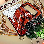 """Для дома и интерьера ручной работы. Ярмарка Мастеров - ручная работа Часы для магазина """"Берлога"""". Handmade."""