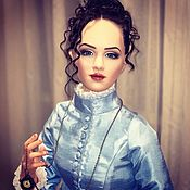Портретная кукла ручной работы. Ярмарка Мастеров - ручная работа Анна Каренина. Каркасная интерьерная кукла. Handmade.