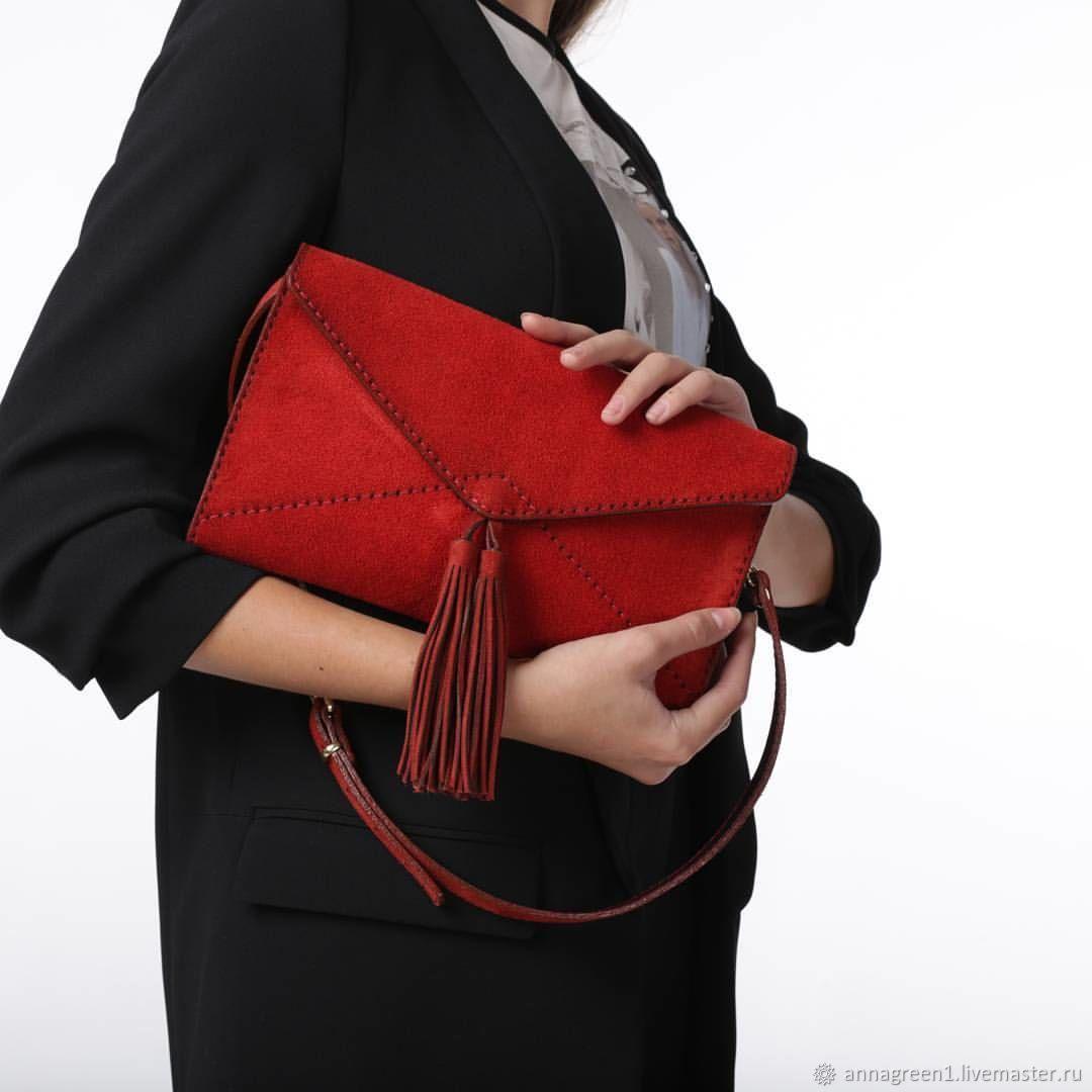 8d1ffbe360f6 Женские сумки ручной работы. Ярмарка Мастеров - ручная работа. Купить Клатч  КОНВЕРТ.