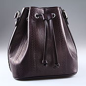 Сумки и аксессуары handmade. Livemaster - original item Women`s bag made of sea snake skin IML0503K. Handmade.