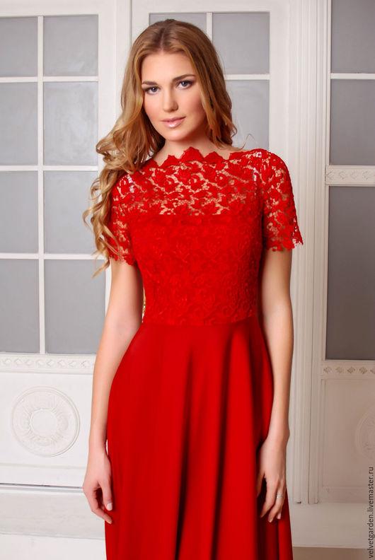 вечернее платье в пол, нарядное длинное платье