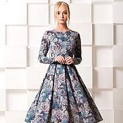 Одежда ручной работы. Ярмарка Мастеров - ручная работа Тёплое платье. Handmade.