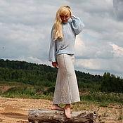 """Одежда ручной работы. Ярмарка Мастеров - ручная работа Юбка """"Голубой песок"""". Handmade."""