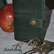 Канцелярские товары handmade. Livemaster - original item Leather cover