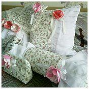 Для дома и интерьера ручной работы. Ярмарка Мастеров - ручная работа Комплект подушек  в стиле шебби шик. Handmade.