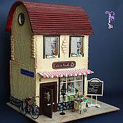 Куклы и игрушки ручной работы. Ярмарка Мастеров - ручная работа Кафе в Париже. Handmade.