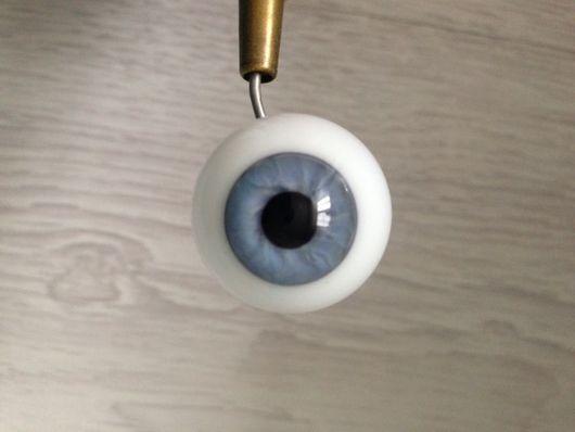 Куклы и игрушки ручной работы. Ярмарка Мастеров - ручная работа. Купить глаза Лауша 24 мм N 3. Handmade.