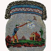 Русский стиль ручной работы. Ярмарка Мастеров - ручная работа Кошелек, вышитый бисером.. Handmade.