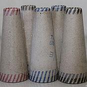 Материалы для творчества handmade. Livemaster - original item Yarn: CONES FOR YARN ATMATA CARDBOARD. Handmade.
