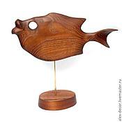 Для дома и интерьера ручной работы. Ярмарка Мастеров - ручная работа Скульптура Fish-2. Handmade.