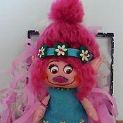 """Куклы и игрушки ручной работы. Ярмарка Мастеров - ручная работа """"Трол-ля-ля"""".Текстильная куколка.. Handmade."""