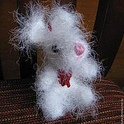 Подарки к праздникам ручной работы. Ярмарка Мастеров - ручная работа Белый зайчонок. Handmade.