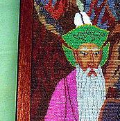 Картины и панно ручной работы. Ярмарка Мастеров - ручная работа Аксакал с кобызом. Handmade.