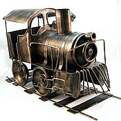 Model handmade. Livemaster - original item Funny locomotive. Handmade.