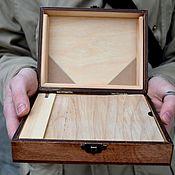 Подарки к праздникам ручной работы. Ярмарка Мастеров - ручная работа Маленький этюдник на палец(удобен в путешествии). Handmade.