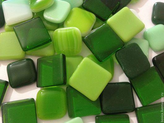 Другие виды рукоделия ручной работы. Ярмарка Мастеров - ручная работа. Купить Мозаика для творчества, оттенки зеленого. Handmade. Мозаика