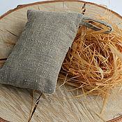 Для дома и интерьера handmade. Livemaster - original item new! Washcloth linen with a bast
