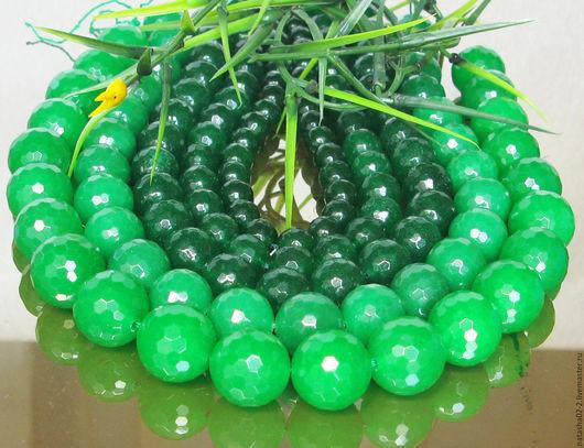 Для украшений ручной работы. Ярмарка Мастеров - ручная работа. Купить Жадеит изумрудно - зеленый  ВСЕ РАЗМЕРЫ. Handmade.