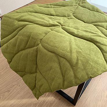 Для дома и интерьера ручной работы. Ярмарка Мастеров - ручная работа Интерьерный коврик лист. Handmade.