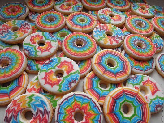 много-много радужных печенек!!!