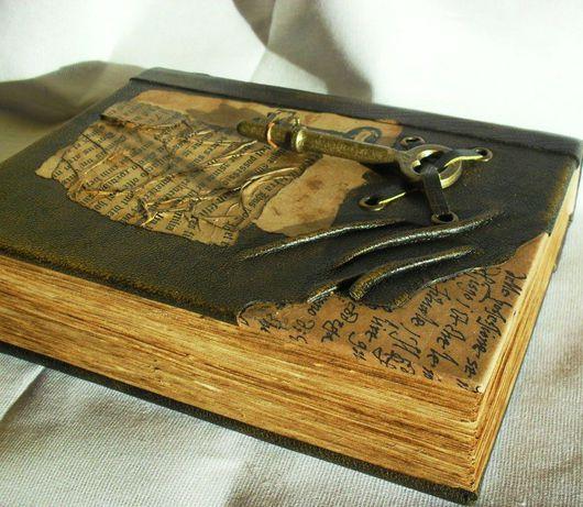 Блокноты ручной работы. Ярмарка Мастеров - ручная работа. Купить Блокнот Ключ в библиотеку. Handmade. Блокнот, бумага