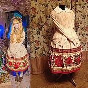 Одежда ручной работы. Ярмарка Мастеров - ручная работа Новогодняя юбка. Handmade.