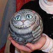 Сувениры и подарки handmade. Livemaster - original item The Cheshire cat - ball tumbler musical. Handmade.