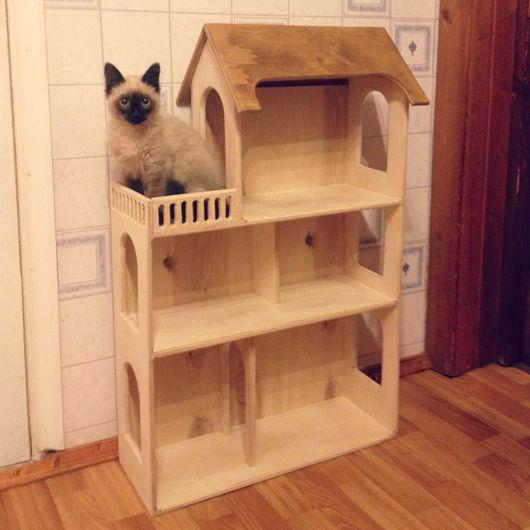 Кукольный дом ручной работы. Ярмарка Мастеров - ручная работа. Купить Куколный домик. Handmade. Домик, доми из дерева