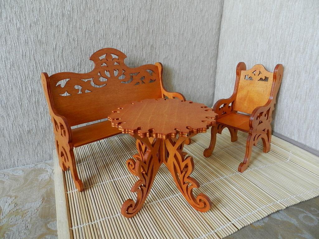 Резной стул из дерева своими руками