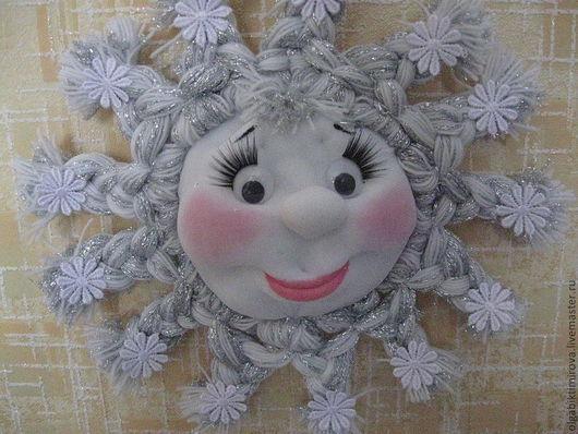 Коллекционные куклы ручной работы. Ярмарка Мастеров - ручная работа. Купить Снежинка. Handmade. Белый, капрон