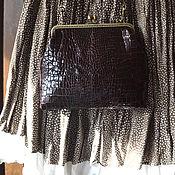 Сумки и аксессуары handmade. Livemaster - original item handbag crocodile