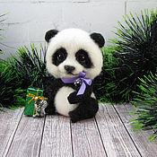 Куклы и игрушки handmade. Livemaster - original item Panda Muffin. Handmade.