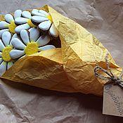 Сувениры и подарки ручной работы. Ярмарка Мастеров - ручная работа Пряничный букет ромашек и подсолнухов. Handmade.