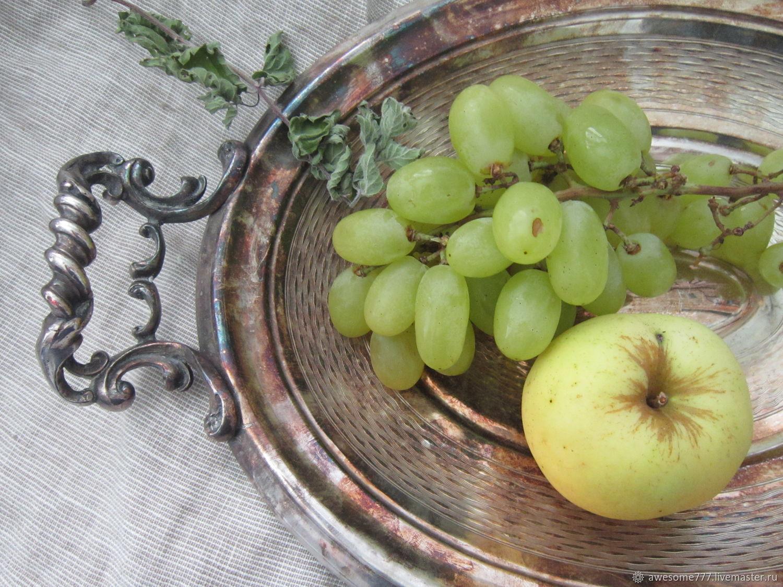 Винтаж: Старинная ваза для фруктов, Франция, нач 20 века, Тарелки винтажные, Москва,  Фото №1