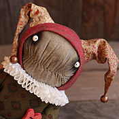 Куклы и игрушки handmade. Livemaster - original item Love the jester.... Handmade.