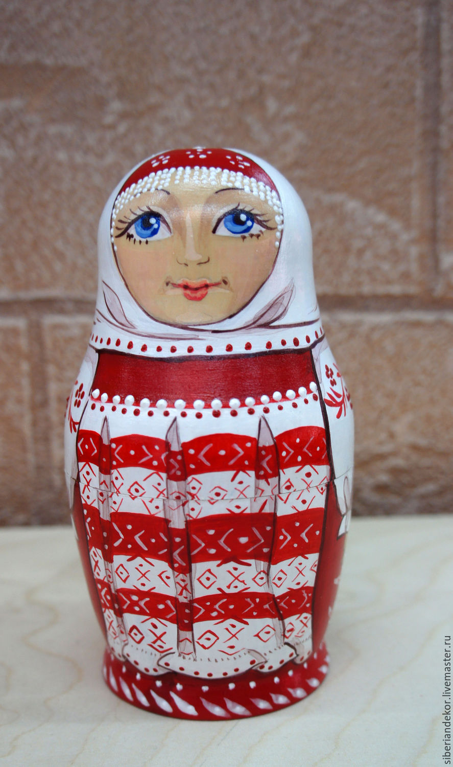 Matryoshka doll in Russian costume, Dolls1, Tyumen,  Фото №1