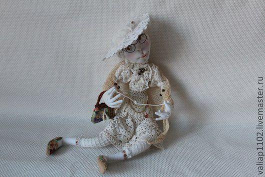 Коллекционные куклы ручной работы. Ярмарка Мастеров - ручная работа. Купить Узелок на память. Handmade. Белый, авторская кукла, подарок