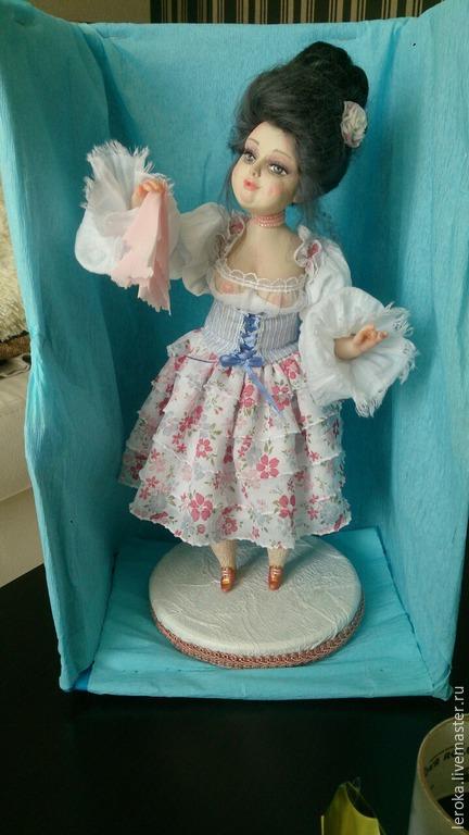 """Коллекционные куклы ручной работы. Ярмарка Мастеров - ручная работа. Купить Интерьерная авторская кукла""""Душенька"""". Handmade. Разноцветный, декольте, Цернит"""