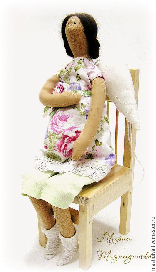 Куклы Тильды ручной работы. Ярмарка Мастеров - ручная работа. Купить Беременная тильда. Handmade. Тильда, беременяшка, подарок женщине
