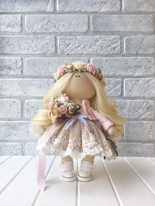 Коллекционные куклы ручной работы. Ярмарка Мастеров - ручная работа. Купить Кукла ручной работы Molli.. Handmade. текстильная игрушка