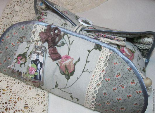 Женские сумки ручной работы. Ярмарка Мастеров - ручная работа. Купить Моё со мной. Косметичка.. Handmade. Комбинированный