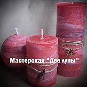 """Сувениры и подарки ручной работы. Ярмарка Мастеров - ручная работа """"Красная пуэрария"""" эко-свечи. Handmade."""