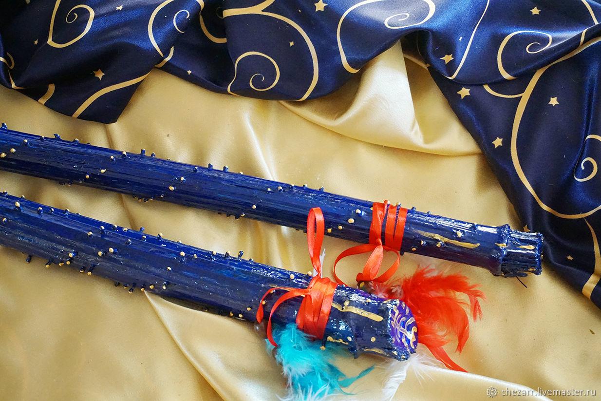 A rain stick ( Rainstick) (blue 110 cm), Other instruments, Chelyabinsk,  Фото №1