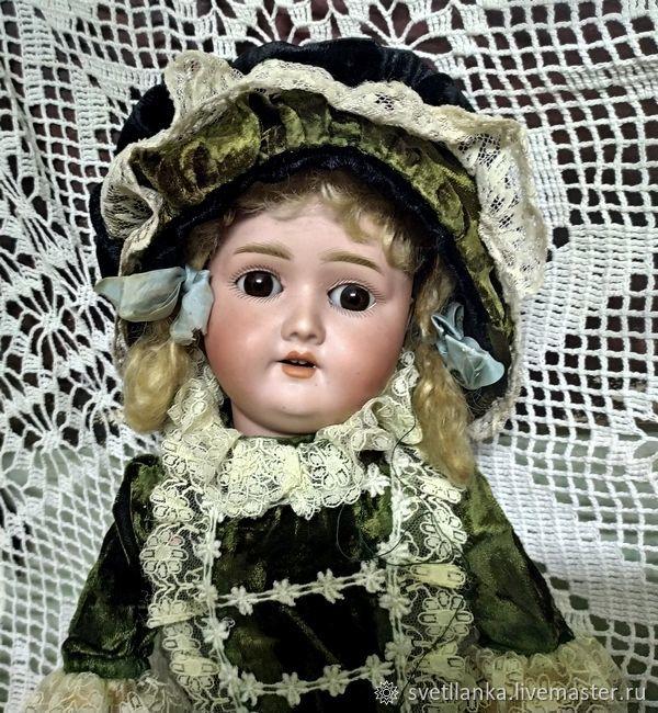 Антикварная кукла от Schoenau & Hoffmeister молд 1909, Куклы, Белозерск, Фото №1
