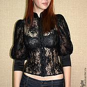 Одежда handmade. Livemaster - original item Lace blouse. Handmade.