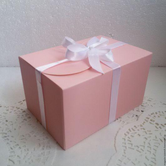 Упаковка ручной работы. Ярмарка Мастеров - ручная работа. Купить Коробочка однотонная (3 цвета). Handmade. Коробка, подарочная упаковка