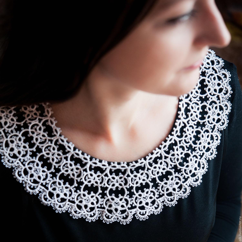 Tatting lace collar, Collars, St. Petersburg,  Фото №1